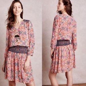 Anthro Vanessa Virginia Day Daytripper Dress